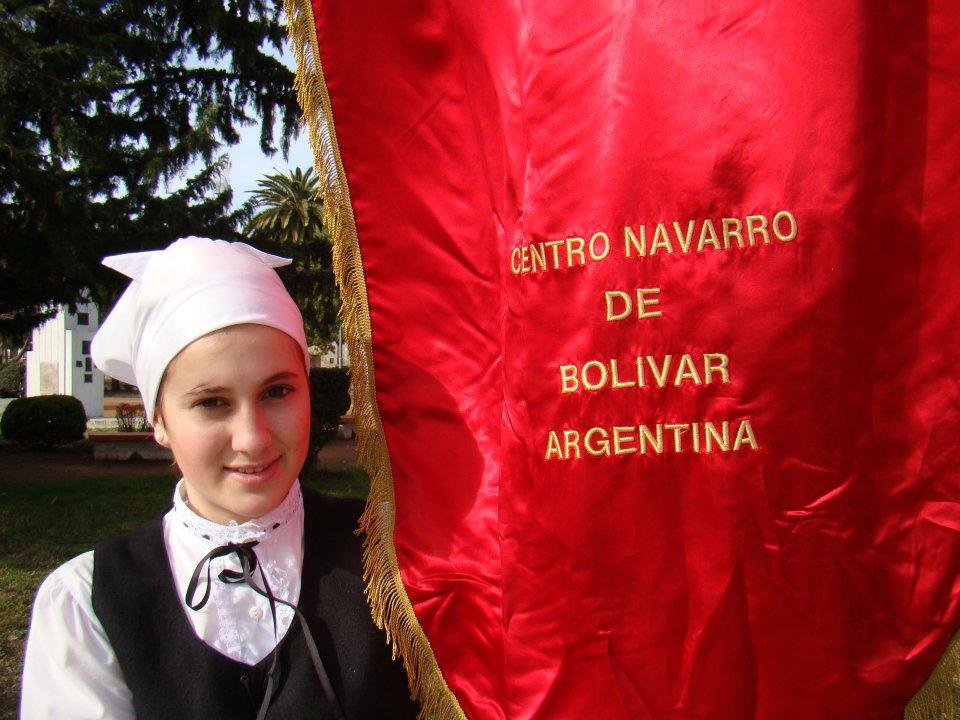 Bolivarko Nafar Etxeko dantzaria