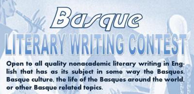 Basque Literary Writing Contest 2014 lehiaketaren afixa