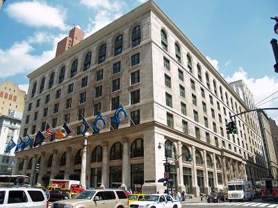 CUNY Unibertsitateko Graduate Center eraikina (argazkia David Shankbone CC BY-SA 3.0)