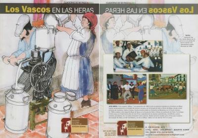"The cover of ""The Basques in Las Heras"""