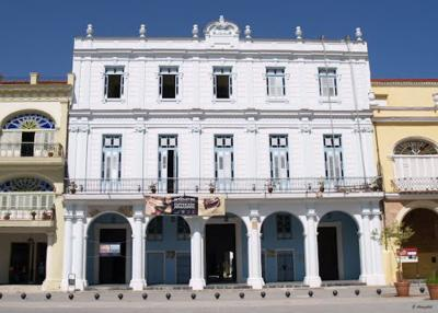 Palace of the Count of San Esteban de Cañongo, in the Old Plaza in Havana where the conference will take place (photo Gorka Aranzabal)