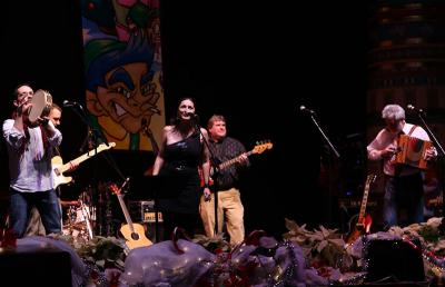 Lisa Corcostegui believes that the folk band from Boise will be able to attract a younger audience to the event (Photo: Amuma Says No)