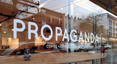 Chef Jefferson Álvarez chose Propaganda Coffee because the space in front of the bar is completely open (Photo: P.C.)
