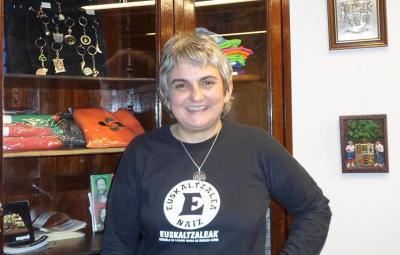 Teresa de Zavaleta Buenos Airesko Euskaltzaleak elkarteko lehendakaria da (argazkia EuskalKultura.com)