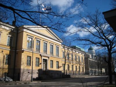 Helsinkiko Unibertsitateko kanpusa
