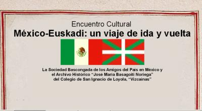"""Event poster for """"Mexico and Euskadi: Roundtrip Journey"""""""
