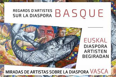"Exhibition poster, ""Artists' Glimpses of the Basque Diaspora"""