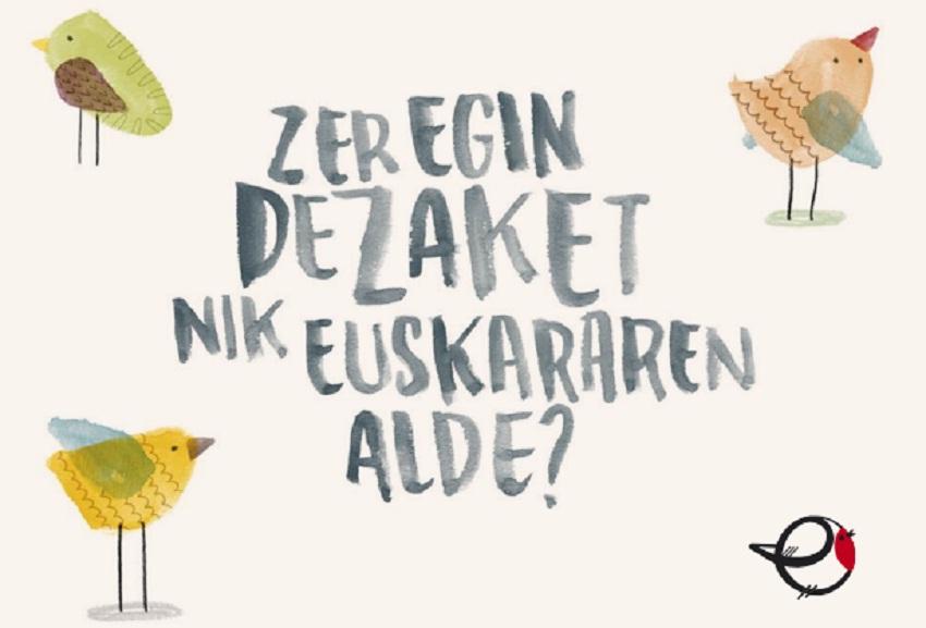 Este sábado, 3 de diciembre, se celebrará el Día Internacional del Euskera