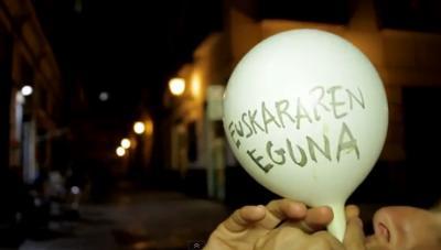 Valentziako Euskaltzaleak elkarteak iazko Euskararen Nazioarteko Egunerako egin zuen bideoko irudia