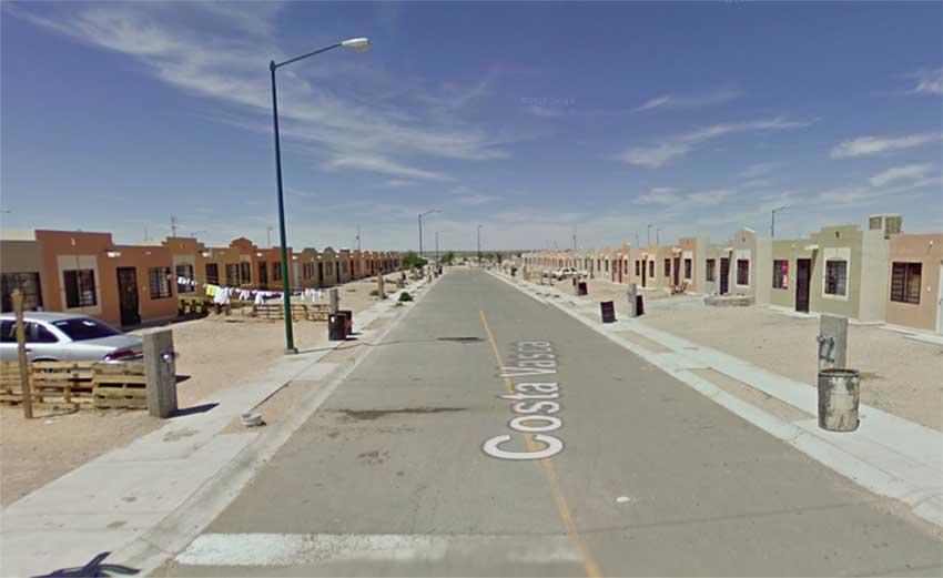 Costa Vasca Ciudad Juarez Mexico (photo Google Maps)