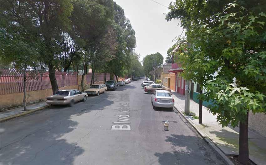 Colonia Euzkadi, Mexico City (Google Maps)