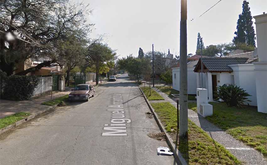 Miguel Arrambide Street, Cordoba (Google Earth)
