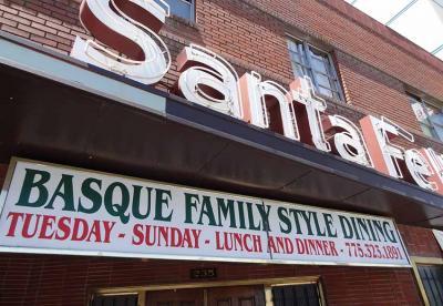 The Santa Fe Basque Restaurant in Reno, NV (photoEuskalKultura.com)