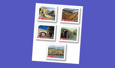 Canadian stamps featuring UNESCO heritage sites now available. Red Bay is the last one pictured
