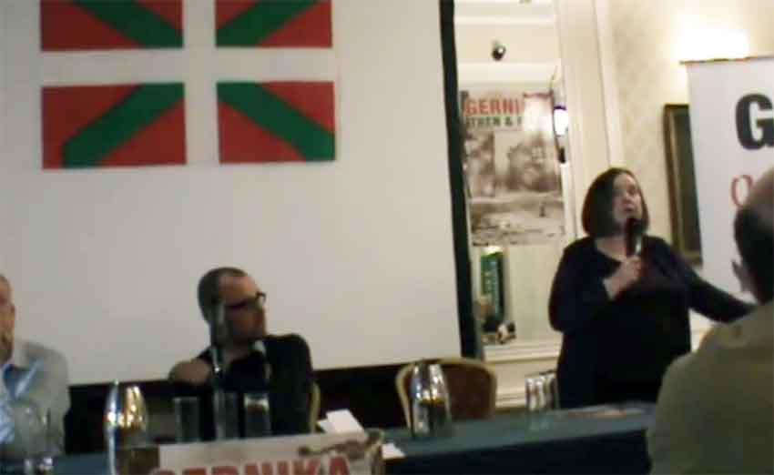 Charla el pasado fin de semana en Dublín de Bernadette McAliskey sobre Gernika