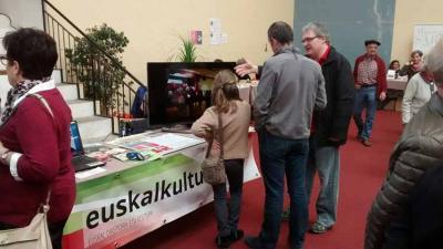 EuskalKultura.com's stand at the 34th Fair in Sara