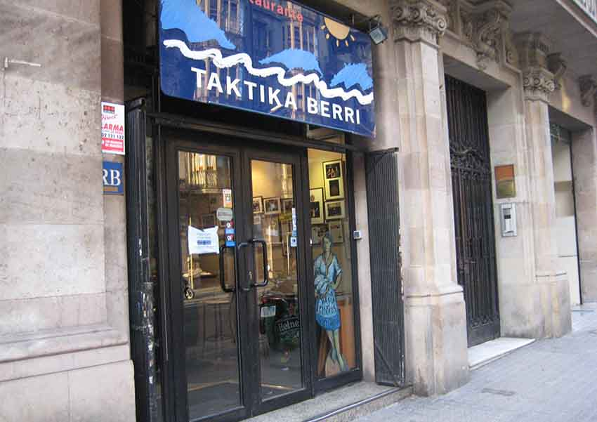 Taktika Berri Basque Restaurant, Barcelona
