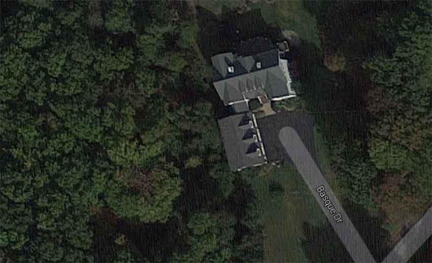 Basque Drive Annapolis Maryland (photo Google Earth)