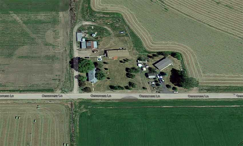 Cenarrusa Lane Carey Idaho (photo Google Earth)