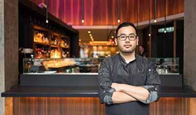 Restaurant Ortzi en NY, chef Michael Han (foto Ortzi.com)