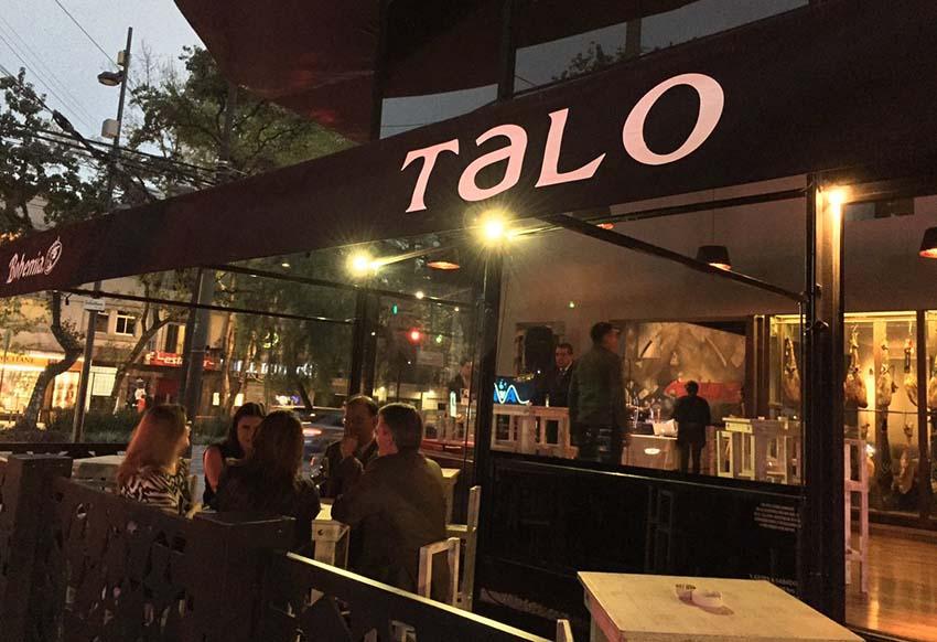 Restaurante Talo, fundado en 2016 en Ciudad de México