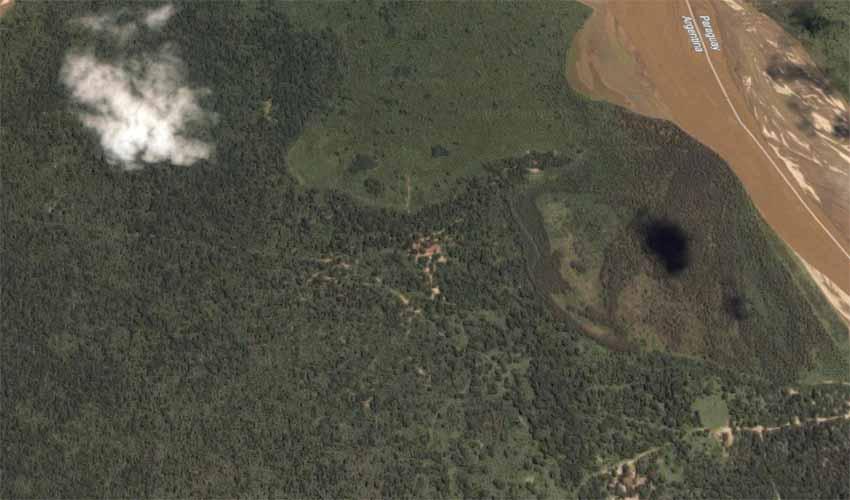 Villa Zabaleta Formosa Argentina (foto Google Earth)