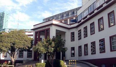 Hospital Gustavo Fricke en Viña del Mar, donde está ingresada la estudiante vasca Aitana