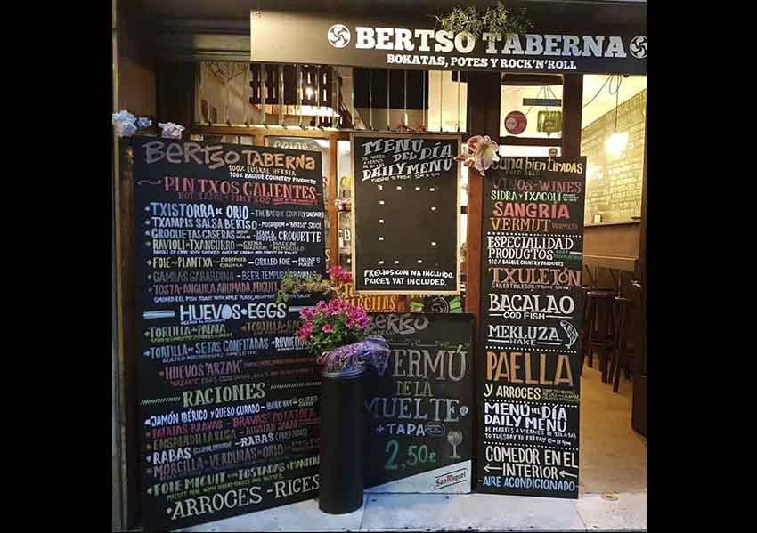 Bertso Taberna Basque restaurant, Barcelona