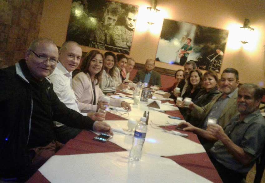 Reunión conformatoria de Trujilloko Euskal Etxea, en Perú (foto EuskalKultura.com)