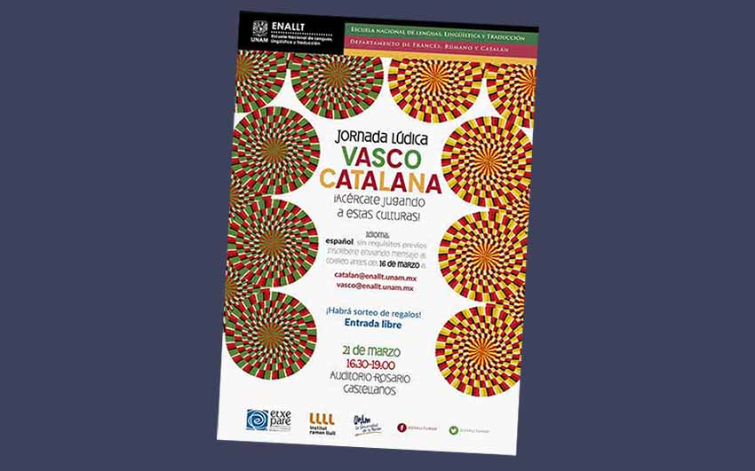 """Basque Catalan Leisure Day"" is this Wednesday at the UNAM"