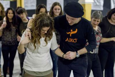 Patxi Laborda, dance master at an Aiko Taldea course