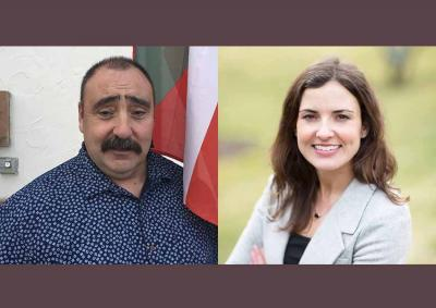 Aitor Narvaiza running for Sheriff in Elko, NV and Diana Lachiondo running for Ada County Commissioner in Boise, Idaho