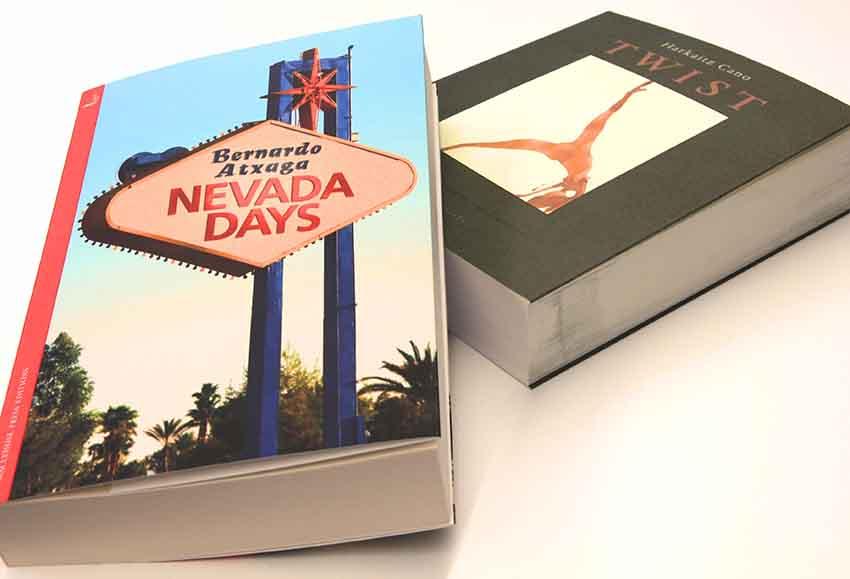 Las novelas 'Twist' de Harkaitz Cano y Días de Nevada de Bernardo Atxaga, publicadas ahora en inglés
