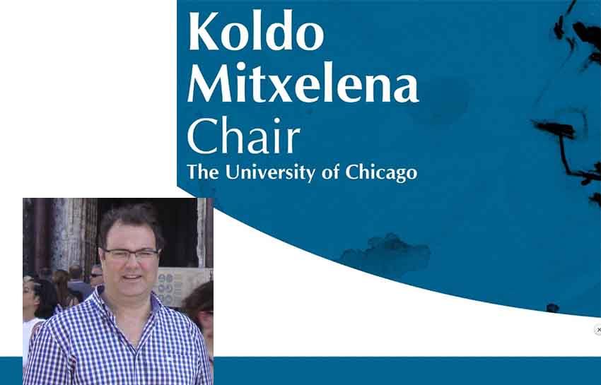 Ricardo Etxepare is the 2018 Koldo Mitxelena Chair at the University of Chicago