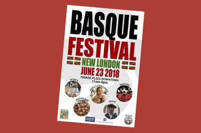 Basque Festival poster for this Saturday, June 23rd in New London, CT