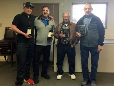 Second place finishers (left) Gaven Sarratea and Frank Vargas with champions (right) Anastacio Sarratea and Ignacio Sarratea -photo provided