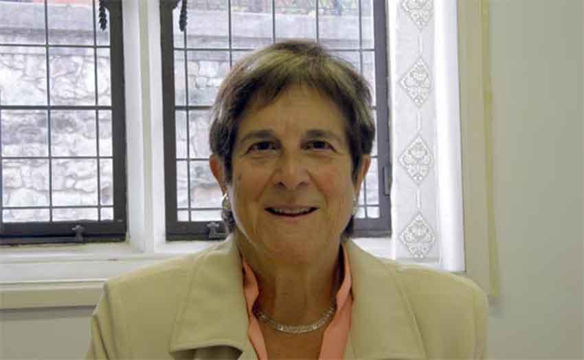 Anthropologist from Donostia, Teresa del Valle Murga (photo Maide Sillero Alfaro)