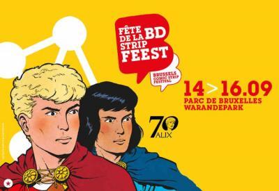 Bruselako Fete de la BD -Strip Feest komikiaren festa asteburu osoan garatuko da hiriburu europarrean, euskal komikia partaide
