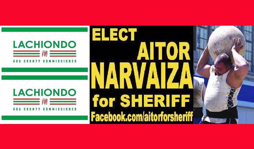 Ambos electos tienen a gala su origen vasco y así lo han hecho notar en los colores y anuncios de sus respectivas campañas