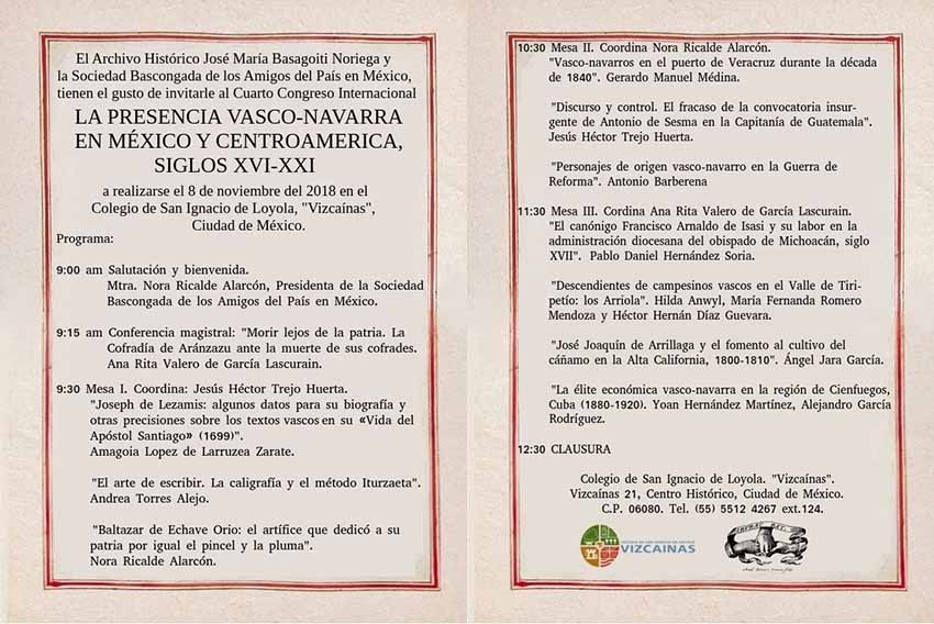 """The event will begin this Thursday at the College of Saint Ignatius of Loyola, """"Vizcainas,"""" in the capital city"""