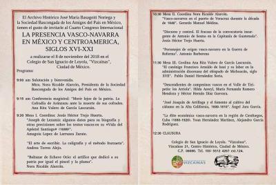 Batzarra azaroaren 8an egingo da Mexiko Hiriko Loiolako San Inazio 'Vizcaínas' Eskolaren egoitzan