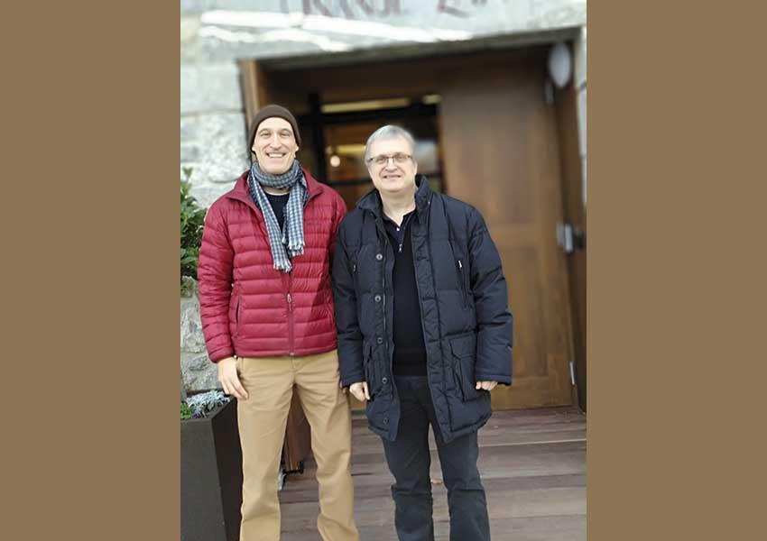 De visita desde San Francisco, Aitor Iñarra inició el año reuniéndose en Donostia con EuskalKultura.com en nuestra sede del Hotel Heredad de Unanue