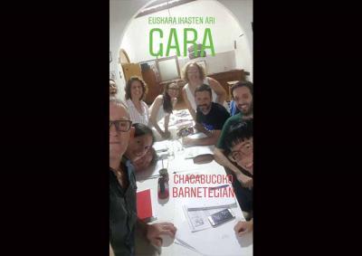 El Barnetegi de Verano 2019 de 'Euskara Munduan', desde el pasado fin de semana en Chacabuco, Argentina (foto Valeria García Oyarzábal)