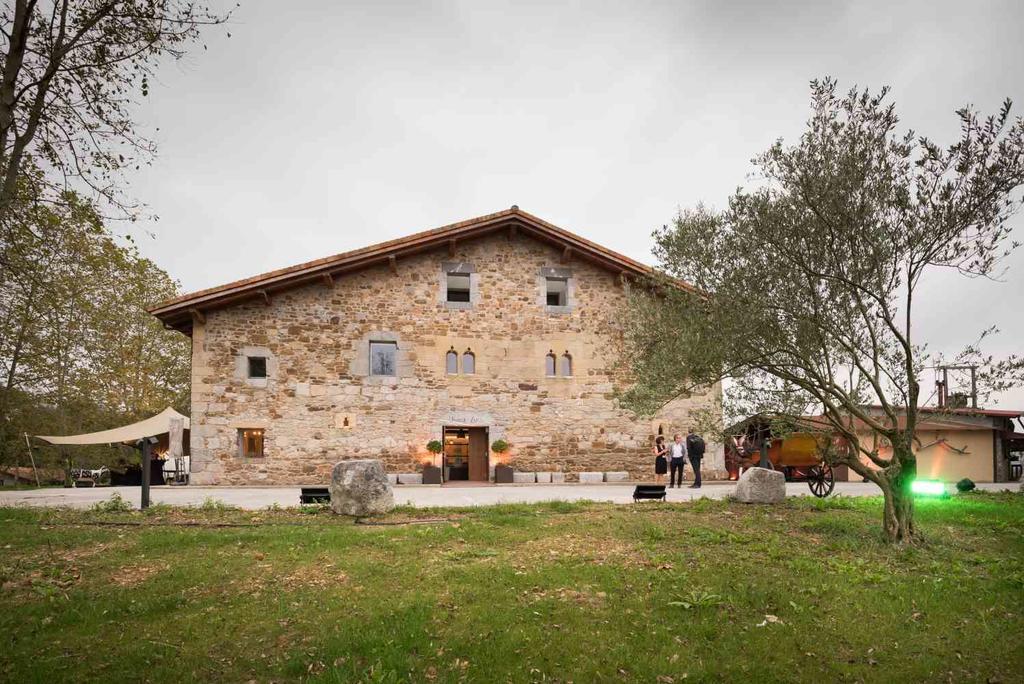"The Hotel Heredad de Unanue, the ""Hotel of the Diaspora,"" in Donostia-San Sebastian, an old farmhouse from the 15th-16th century"