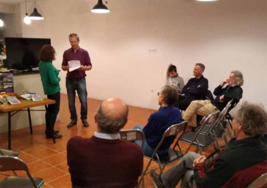 Awards ceremony of the VI Literary contest, Letters from the Diaspora, on January 25 at the Euskal Etxea in Valencia