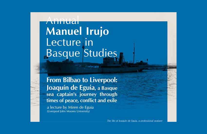 Conferencia sobre la vida de Joaquín de Eguia este miércoles a cargo de Miren de Eguia (Liverpool John Moores University)