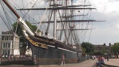 The Cutty Sark is a tourist attraction that could easily become a great place for mintzapraktika